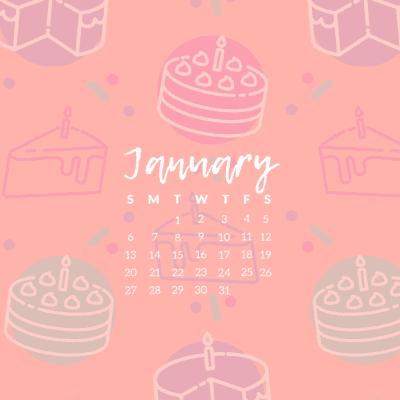 Happy January!