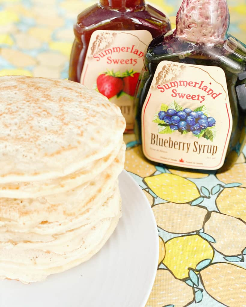easy camping pancakes