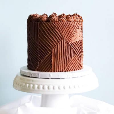 Easy & Delicious Vegan Chocolate Cake With Chocolate Frosting
