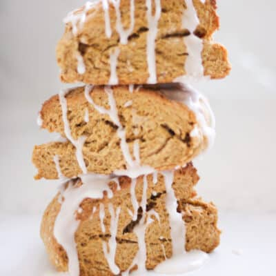 Easy & Delicious Vegan Spiced Pumpkin Scones