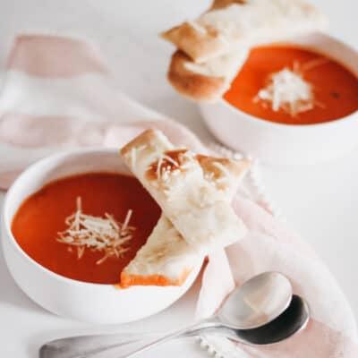 Easy Creamy Vegan Tomato Soup
